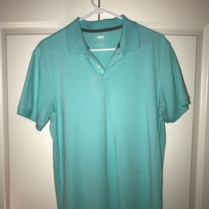 Men's Baby Blue Old Navy Polo